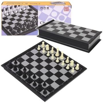 Шахматы Магнитные дорожные шашки 2 на 1 доставка товаров из Польши и Allegro на русском
