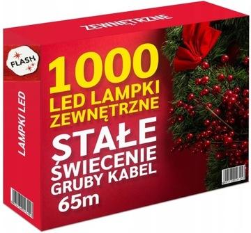 LAMPKI CHOINKOWE 1000 LED ZEWNĘTRZNE STAŁE + FLASH доставка товаров из Польши и Allegro на русском