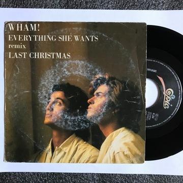 WHAM!_Last Christmas_Everything She Wants_7'' доставка товаров из Польши и Allegro на русском