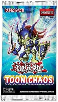 Yu-Gi-Oh! Toon Chaos booster STREFA24 доставка товаров из Польши и Allegro на русском