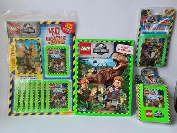 Lego Jurassic World ALBUM multipak 300 NAKLEJEK доставка товаров из Польши и Allegro на русском