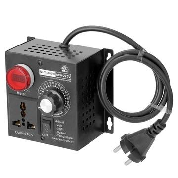 Регулятор напряжения контроллер AC 220V 4000W доставка товаров из Польши и Allegro на русском