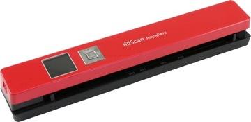 (Сканер IRIS IRIScan Anywhere 5 красный 458843) доставка товаров из Польши и Allegro на русском