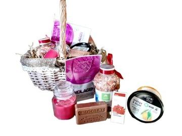 Корзина набор с подарками подарок ДЛЯ ВАННЫ SPA доставка товаров из Польши и Allegro на русском