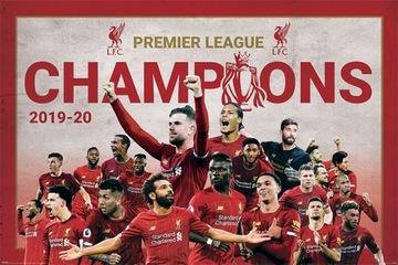 Liverpool FC mistrzowie drużyna plakat 61x91.5 cm доставка товаров из Польши и Allegro на русском
