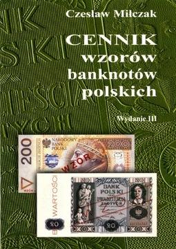 Прайс-лист КОНСТРУКЦИЙ банкнот польских изд III - Milczak доставка товаров из Польши и Allegro на русском
