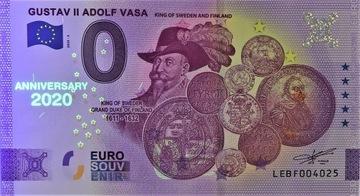 0 Euro - Gustaw II Adolf Waza - 2020 - ANNIVERSARY доставка товаров из Польши и Allegro на русском