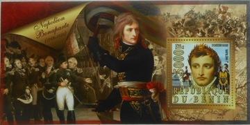 Napoleon Bonaparte Benin bl. #BEN15-16 доставка товаров из Польши и Allegro на русском