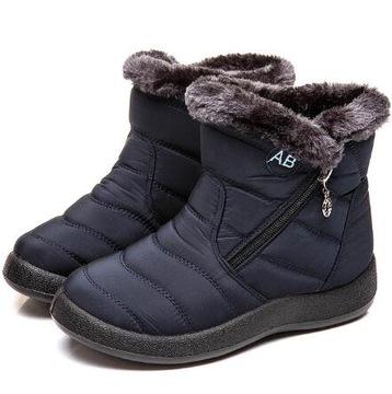 Trapery Damskie zima obuwie ocieplane Buty Zimowe доставка товаров из Польши и Allegro на русском