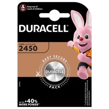 Литиевая батарея DURACELL CR 2450 DL CR 3V x1 доставка товаров из Польши и Allegro на русском