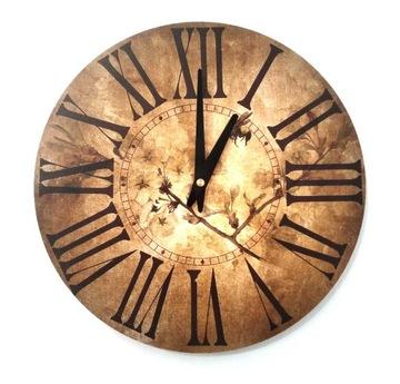 Zegar ścienny ZH82 retro vintage 30cm