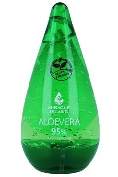 MIRACLE ISLAND ALOEVERA Гель алоэ вера 95% 250 мл доставка товаров из Польши и Allegro на русском