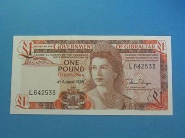 Гибралтар Банкнота 1 Фунт 1988 UNC P-20e доставка товаров из Польши и Allegro на русском