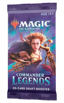 MTG Commander Legends Draft Booster Pack доставка товаров из Польши и Allegro на русском