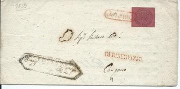 WATYKAN 1886 LIST SKŁAD. Z TERAMO ZE ZN 20 CENT доставка товаров из Польши и Allegro на русском