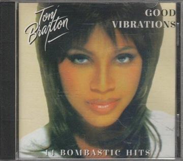 Tony Braxton Good Vibrations 14 Bombastic Hits CD доставка товаров из Польши и Allegro на русском