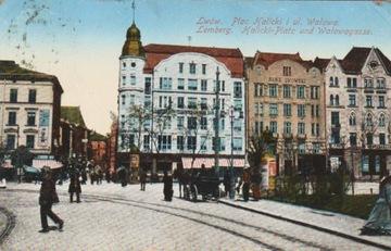 LWÓW. PLAC HALICKI I UL. WAŁOWA. 1915 доставка товаров из Польши и Allegro на русском