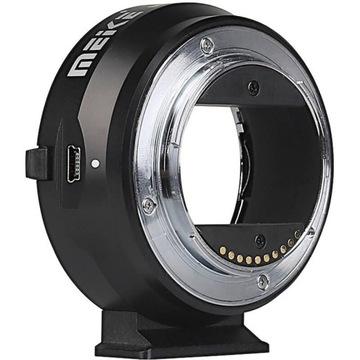 Meike адаптер Sony E для объективов Canon EF доставка товаров из Польши и Allegro на русском