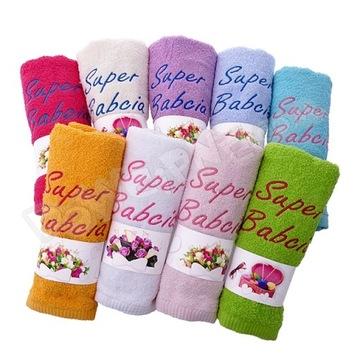 Подарочное полотенце на ДЕНЬ БАБУШКИ доставка товаров из Польши и Allegro на русском