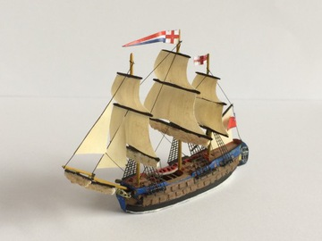 HMS БЕЛЛОНА Парусник масштаб:1: 1200 модель смолистый доставка товаров из Польши и Allegro на русском