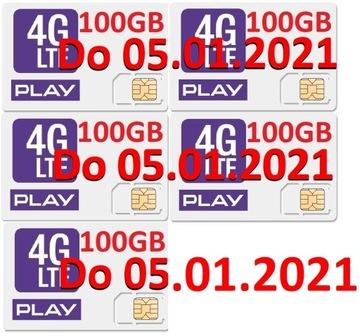 play internet na kartę 5x 100GB 500GB 05.01.2021 доставка товаров из Польши и Allegro на русском