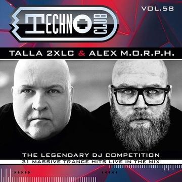 Talla 2XLC Alex M. O. R. P. H - Techno Club Vol. 58 2CD доставка товаров из Польши и Allegro на русском