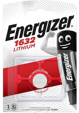 Батарейка литиевая Energizer CR 1632 3V блистер 1шт доставка товаров из Польши и Allegro на русском