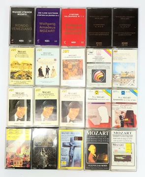НАБОР кассет классической музыки x88  доставка товаров из Польши и Allegro на русском