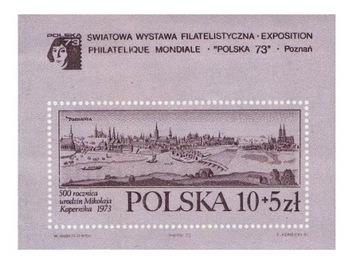 Blok 91 b ** Wystawa Filatelistyczna Polska 73 доставка товаров из Польши и Allegro на русском