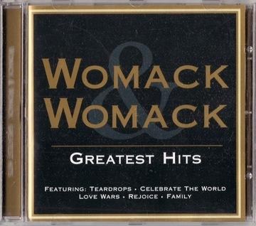 WOMACK & WOMACK - THE GREATEST HITS [CD] доставка товаров из Польши и Allegro на русском