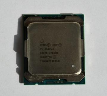 Intel Xeon E5-2603V4 SR2P0 6x 1.7 GHz OEM GW FV 23% доставка товаров из Польши и Allegro на русском