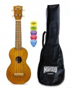 Партии сопрано укулеле Mahalo MK1TBR Kahiko + Чехол доставка товаров из Польши и Allegro на русском