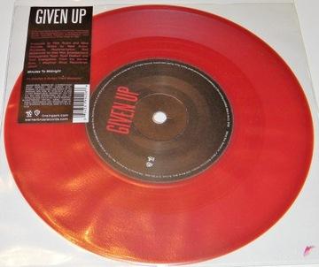 Linkin Park - Given Up 2008 SINGIEL 7'' Czerwony доставка товаров из Польши и Allegro на русском