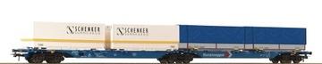 Wagon platforma typ Sggmrs kontenerami Roco 76633 доставка товаров из Польши и Allegro на русском