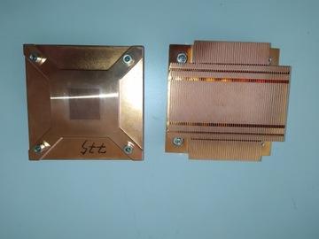 Radiator 1U Intel miedź LGA775 доставка товаров из Польши и Allegro на русском