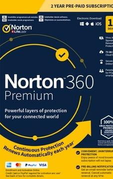 Norton 360 Security 2020 2 Года 1ШТ Premium доставка товаров из Польши и Allegro на русском