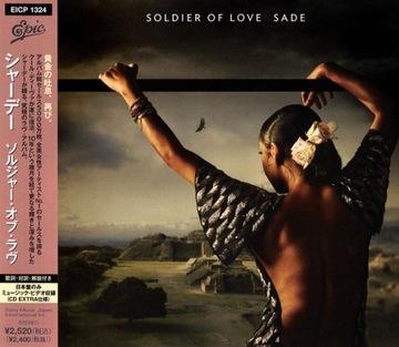 SADE Soldier Of Love CD JAPAN 2010 + бонусное видео! доставка товаров из Польши и Allegro на русском