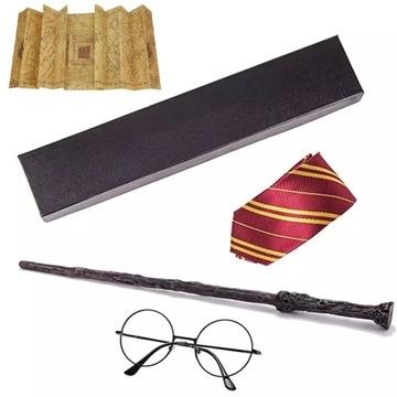 Гарри Поттер волшебная палочка, карта мародеров очки галстук доставка товаров из Польши и Allegro на русском