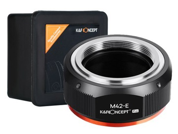 АДАПТЕР M42 на Sony NEX E-mount K&F PRO версия доставка товаров из Польши и Allegro на русском