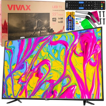 TELEWIZOR 55 UHD 4K SmartTV LED ANDROID 3xHDMI PRO доставка товаров из Польши и Allegro на русском