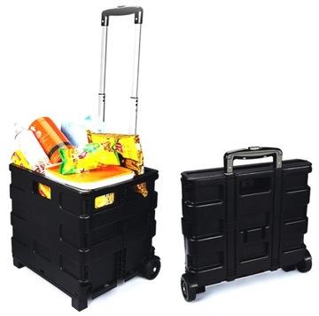 Корзина тележка коробка складная для покупок доставка товаров из Польши и Allegro на русском