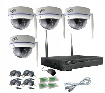 Wi-fi видеонаблюдение 4 камеры WiFi 2 мп FullHD доставка товаров из Польши и Allegro на русском