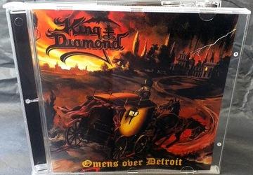 KING DIAMOND - Omens Over Детройт доставка товаров из Польши и Allegro на русском