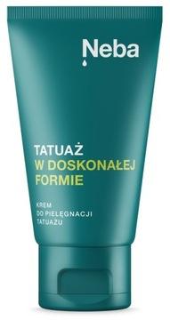 НАТУРАЛЬНЫЙ Крем для ухода за ТАТУ NEBA 50 мл PL доставка товаров из Польши и Allegro на русском