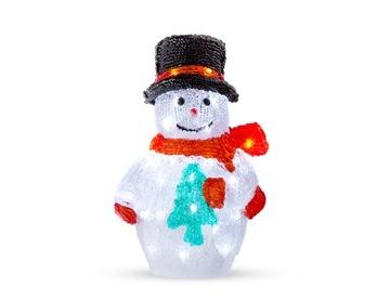 АКРИЛОВЫЙ СНЕГОВИК 40 LED CH28 EUROHIT CHRISTMAS доставка товаров из Польши и Allegro на русском