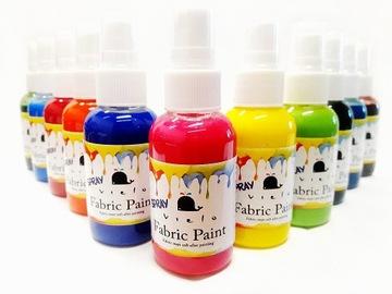 VIELO Краска для ткани спрей цвет: JET BLACK доставка товаров из Польши и Allegro на русском