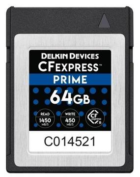 Karta Pamięci Delkin CFexpress 64GB 1450MB/s доставка товаров из Польши и Allegro на русском