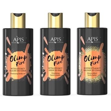 APIS Olimp Fire Zestaw pięlęgnacja do ciała i rąk доставка товаров из Польши и Allegro на русском