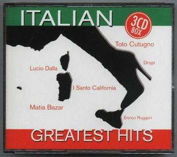 ITALIAN GREATEST HITS - 3CD-BOX доставка товаров из Польши и Allegro на русском
