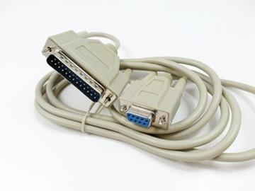 kabel wtyk DB25 / gniazdo DB9 com 25 /com 9 pin доставка товаров из Польши и Allegro на русском